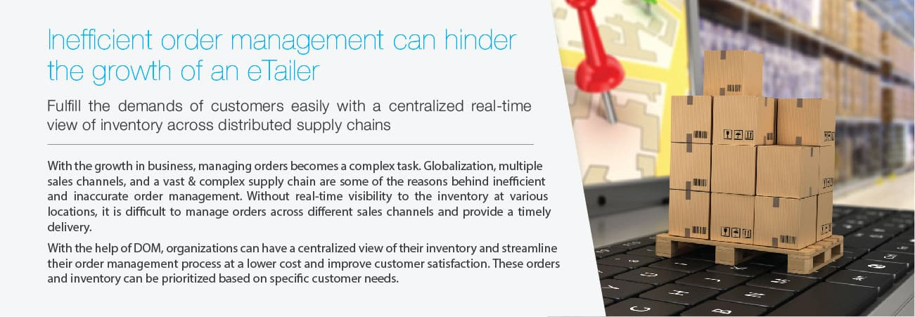 Inefficient order management eTailers