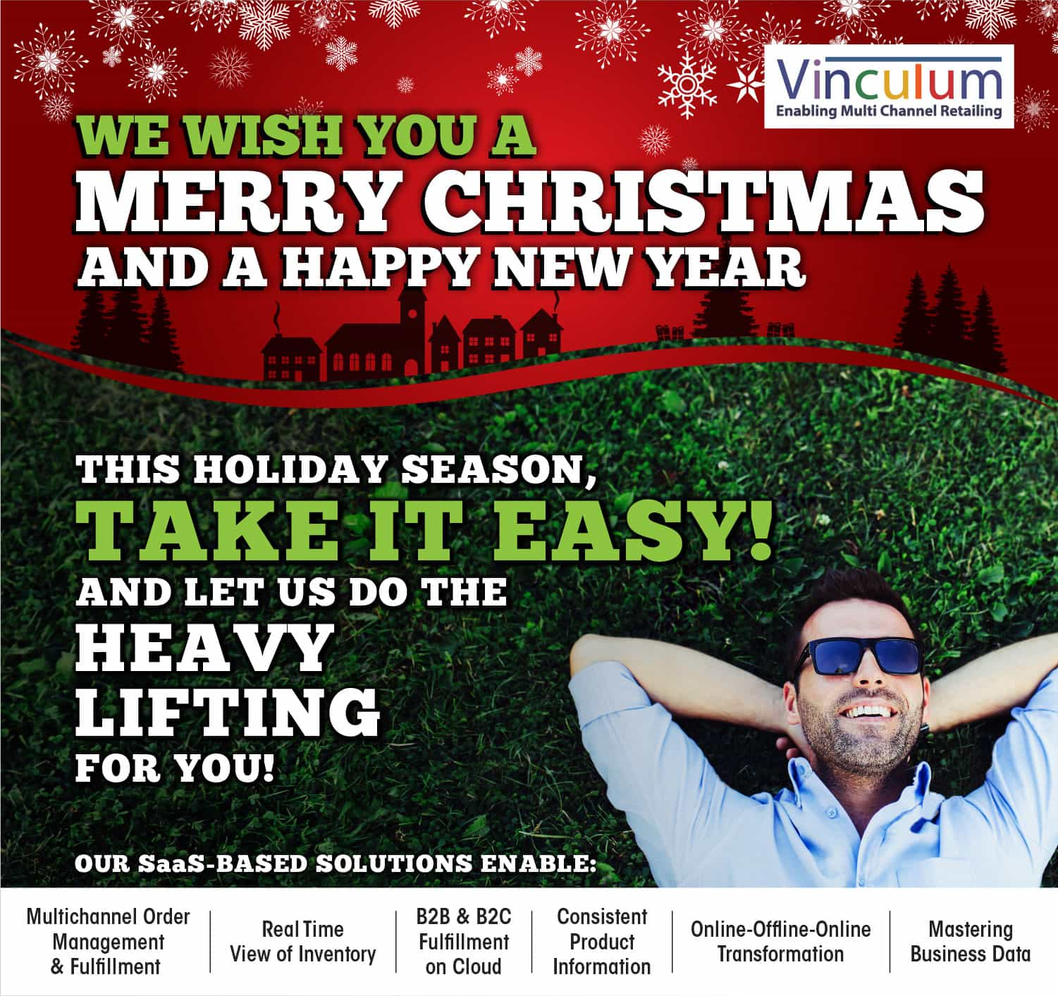 Greetings from Vinculum – Happy Holidays!