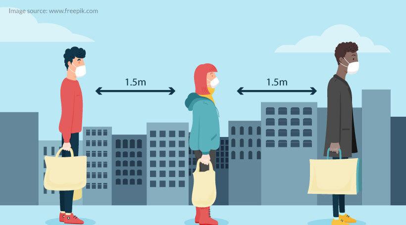 Market After Social Distancing